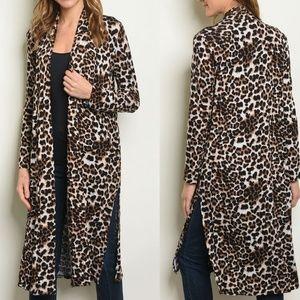 Nina Leopard Duster S M L